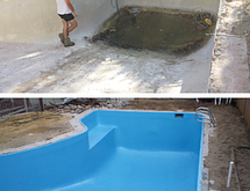 Concrete pool renovation in Nedlands