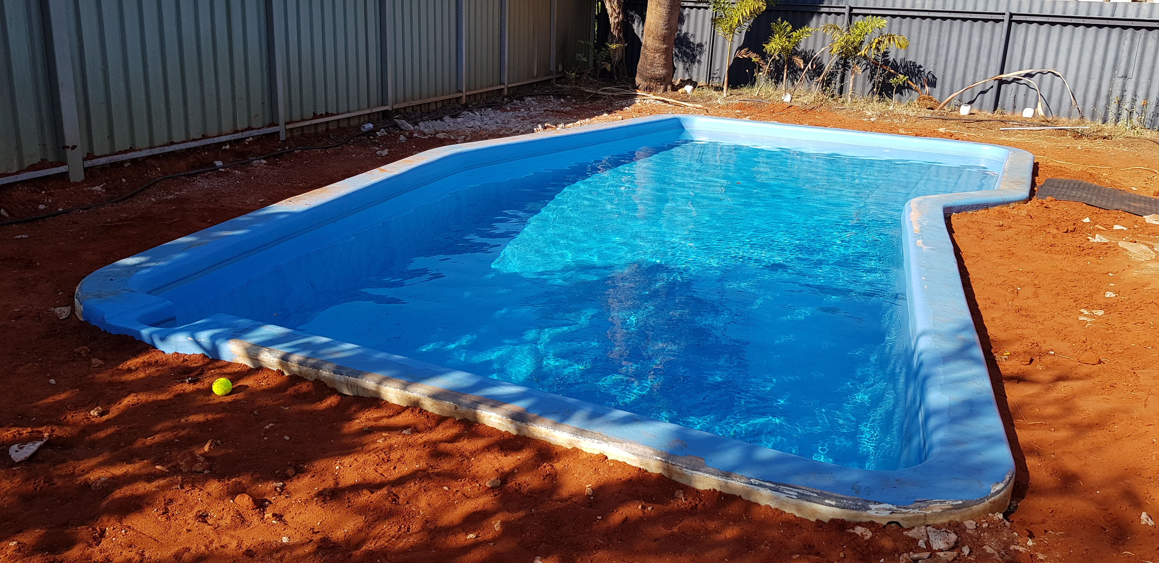 Fibreglass pool renovation south hedland