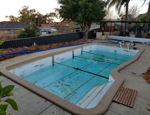 Pool resurfacing Mount Barker (before) – February 2019