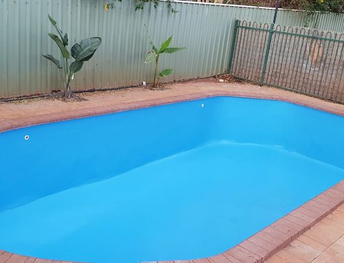 Concrete to fibreglass pool conversion South Hedland (after) – September 2018
