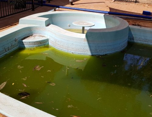 South Hedland large pool restoration (before) – September 2018